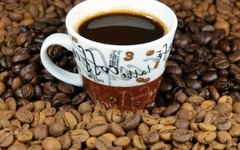 Coffee beverages wallpaper