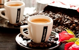 Coffee cups beverages objects espresso wallpaper