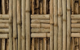 Colorful patterns bamboo textures wallpaper