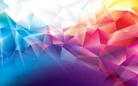 Colorful Polygons wallpaper