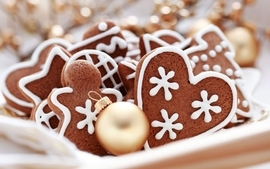 Cookies gingerbread man wallpaper