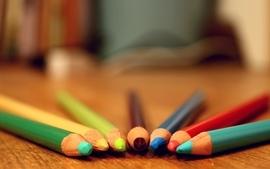 Crayons colors wallpaper