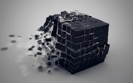 Cube 3d wallpaper