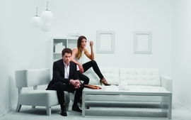 Dexter jennifer carpenter michael c hall tv series dexter morgan wallpaper