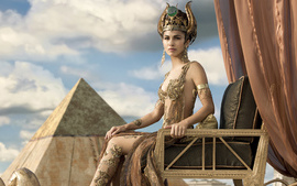 Elodie Yung as Hathor Gods... wallpaper