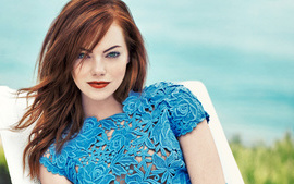 Emma Stone Vogue 2016 wallpaper