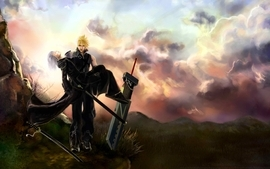 Final fantasy sephiroth cloud strife zack fair kadaj aerith wallpaper