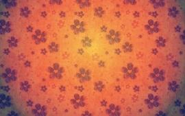 Flowers patterns wallpaper