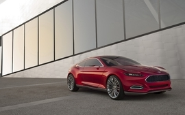 Ford evos concept complex magazine wallpaper