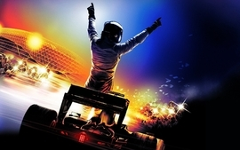 Formula one racing wallpaper