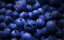 Fruits berries blueberries wallpaper