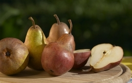 Fruits pears wallpaper