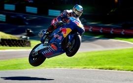 Grass jumping vehicles motorbikes racetrack wallpaper