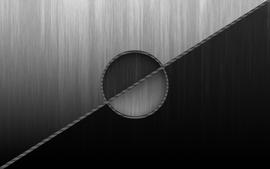 Grayscale monochrome duality wallpaper