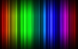 Green abstract blue red colorful yellow rainbows linkitch wallpaper