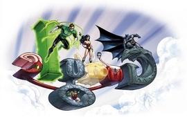 Green lantern batman dc comics google wallpaper