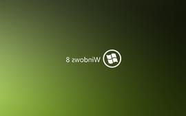 Green minimalistic deviantart windows 8 wallpaper