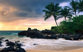 Hawaii Secret Beache wallpaper
