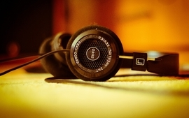Headphones music grado wallpaper