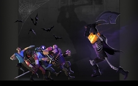 Heavy tf2 halloween scout tf2 demoman tf2 team fortress 2 jack o wallpaper