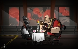 Heavy tf2 team fortress 2 wallpaper