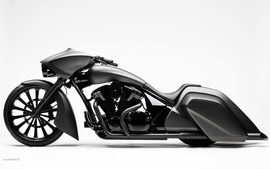 Honda concept custom vehicles motorbikes wallpaper