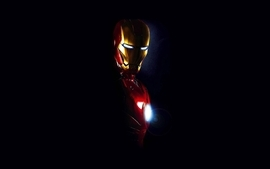 Iron man movies black background wallpaper