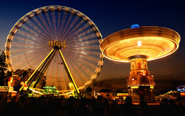 Jupiter Ferris Wheel Fair wallpaper