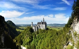 Landscapes castles neuschwanstein castle wallpaper