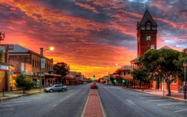 Landscapes cityscapes streets hdr photography wallpaper