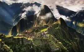 Landscapes civilizations peru machu picchu wallpaper