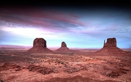 Landscapes desert arizona monument valley rock formations 3 wallpaper