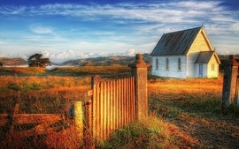 Landscapes house wallpaper
