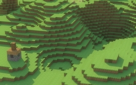 Landscapes minecraft wallpaper