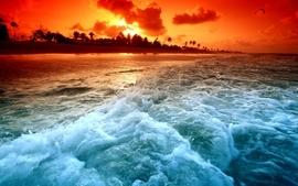 Landscapes nature beach shore paradise wallpaper