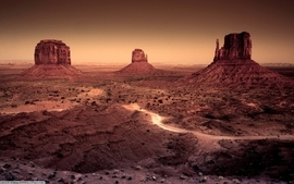 Landscapes nature desert arizona monument valley wallpaper