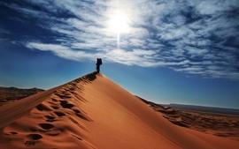 Landscapes nature desert dunes skyscapes wallpaper