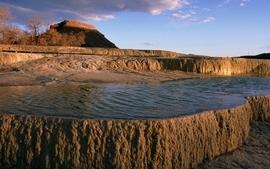Landscapes nature desert lakes wallpaper
