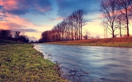 Landscapes nature dreamy rivers wallpaper