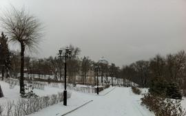 Landscapes nature winter parks wallpaper