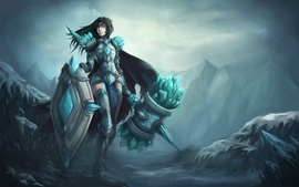 League of legends rule 63 artwork warriors taric genderswitch wallpaper