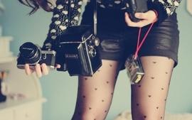 Legs cameras wallpaper