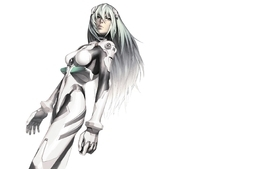 Long hair ayanami rei neon genesis evangelion white hair wallpaper