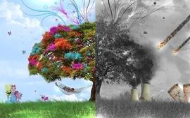 Love war multicolor nuclear vector peace destruction couple wallpaper