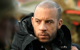 Men celebrity actors vin diesel faces wallpaper