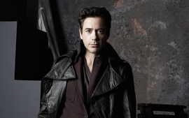 Men robert downey jr actors leather jacket wallpaper