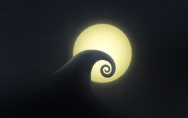 Moon hills nightmare before christmas wallpaper