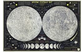 Moon maps wallpaper