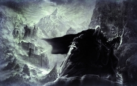 Mountains castles world of warcraft fantasy art horses arthas wallpaper