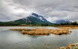 Mountains lakes wallpaper
